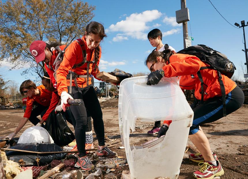 Runners World —<br>Hurricane Sandy