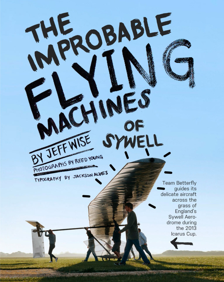 Popular Mechanics —<br>A Human Powered Airplane Competition