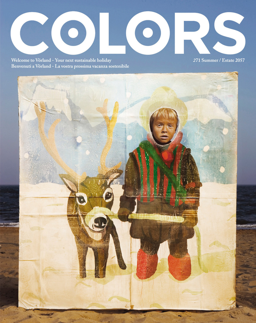 Colors Magazine —<br>Vorland